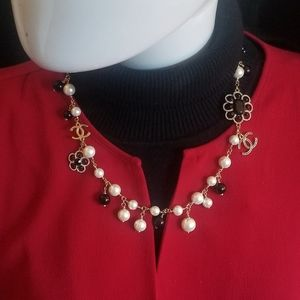 Chanel choker style necklace